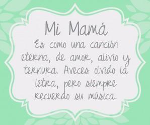 Carta de amor a Mamá