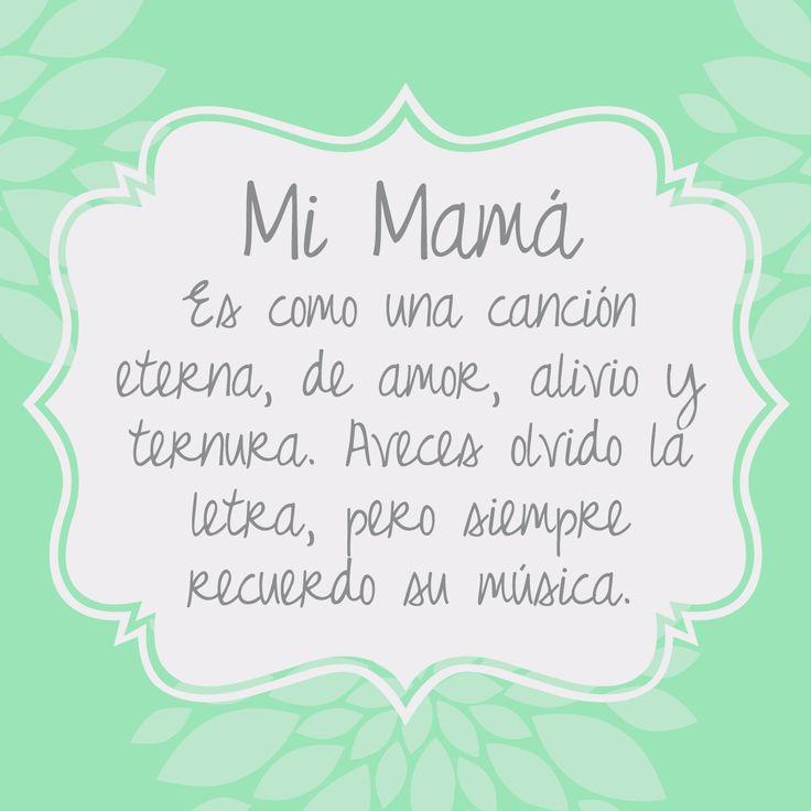 carta de amor a mama