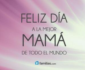 Carta de amor para mi madre: Feliz día mama